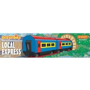 Hornby Playtrains Local Express 2 x Coach Pack Train Set