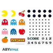 Pac-Man - Characters & Maze Wall Stickers (50 x 70 cm)