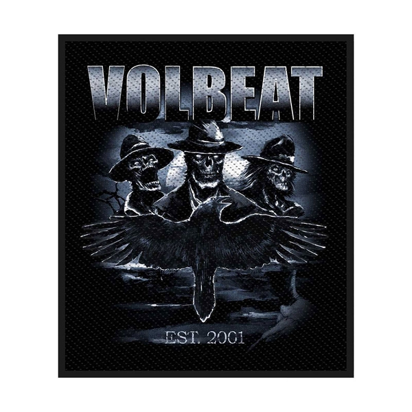 Volbeat - Outlaw Raven Standard Patch