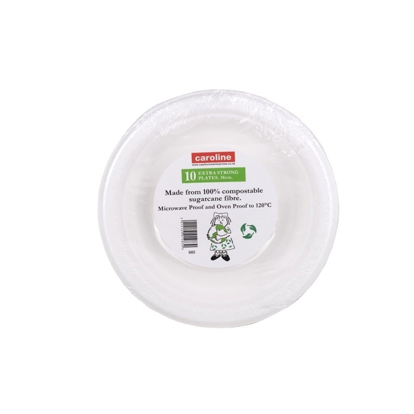 Castleview Extra Strong Plates Pack 10 7inch /18cm