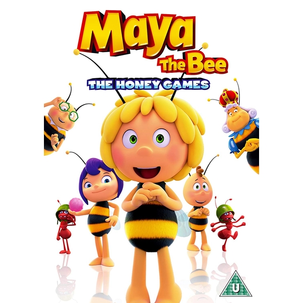 Maya The Bee - The Honey Games DVD