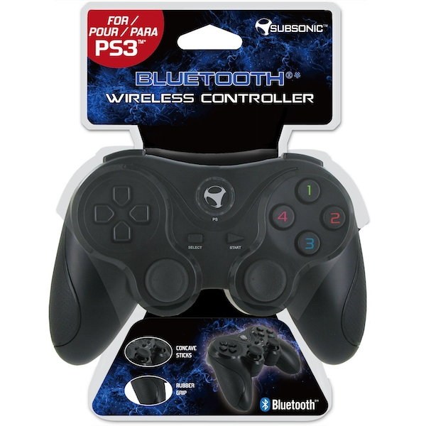 Subsonic Playstation 3 Bluetooth Controller