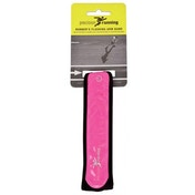 Precision Running Flashing Band Fluo Pink