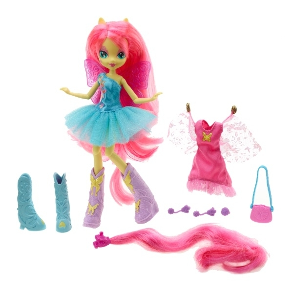 My Little Pony Equestria Girls With Accessories Fluttershy