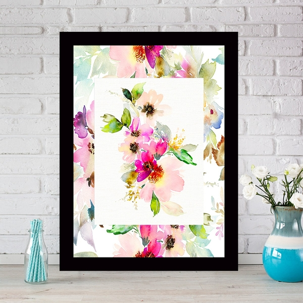 SCZ4402095494 Multicolor Decorative Framed MDF Painting