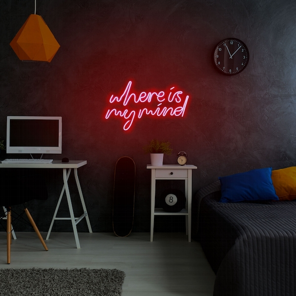 Where Is My Mind - Red Red Wall Lamp