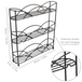 3 Tier Herb & Spice Rack | M&W Black  - Image 5