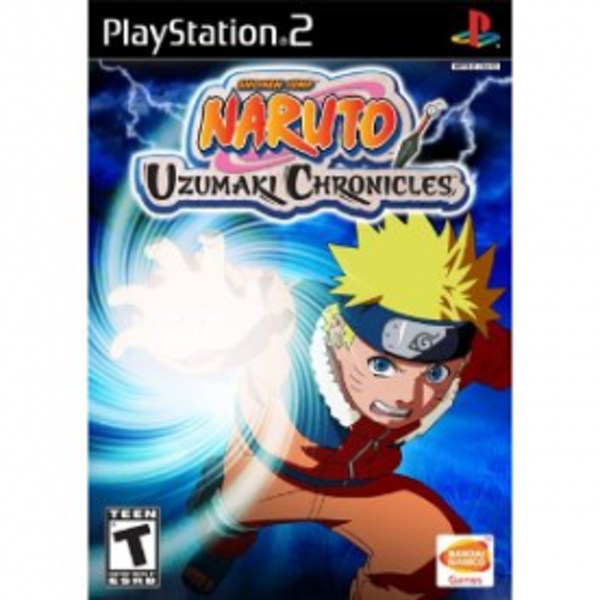 Naruto Uzumaki Chronicles Game PS2