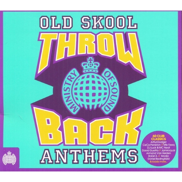 Throwback Old Skool Anthems CD