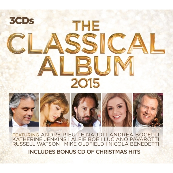 The Classical Album 2015 CD