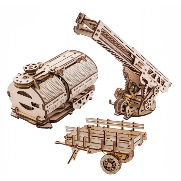 Truck Additions UGears 3D Wooden Model Kit