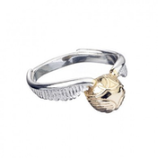 Stainless Steel Golden Snitch Ring- Medium