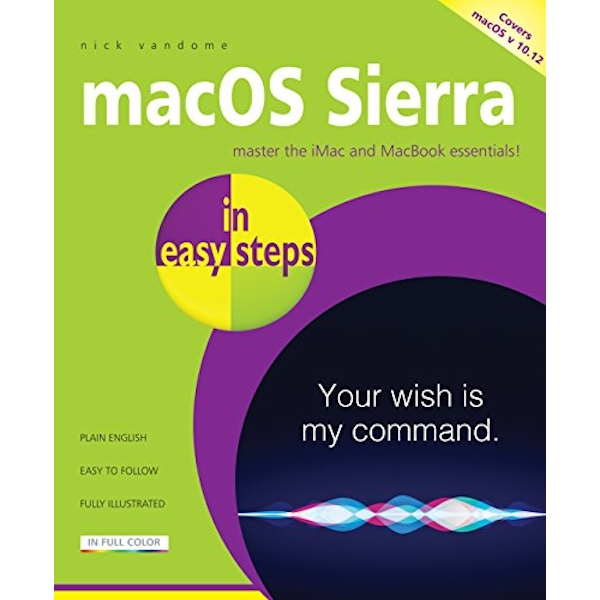 Macos Sierra in Easy Steps by Nick Vandome (Paperback, 2016)