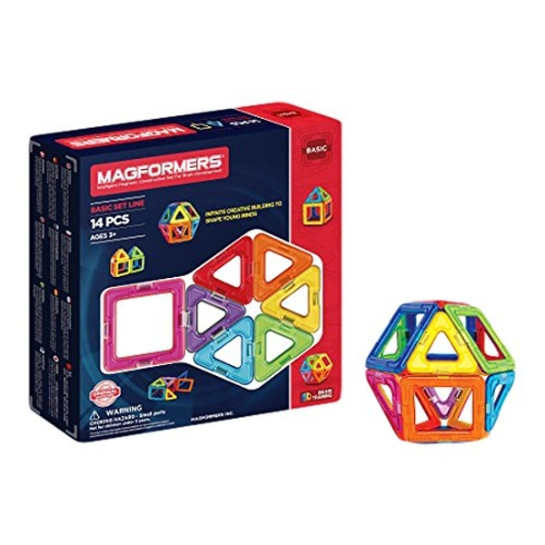 Magformers 14-Piece Construction Set - Image 1