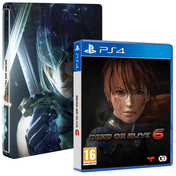 Dead or Alive 6 PS4 Game + Steelbook