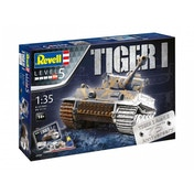 Tiger I Ausf.E (Gift Set) 1:35 Scale Level 5 75th Anniversary Revell Model Kit