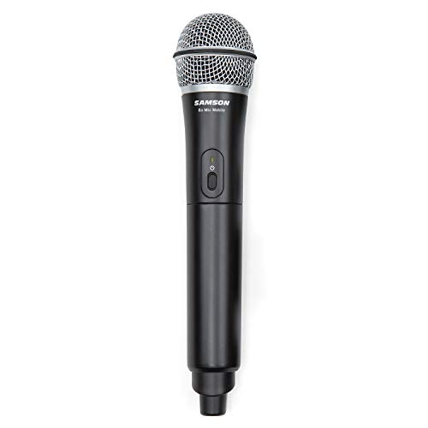 SAMSON Go Mic Mobile - Professional Wireless Microphone System for Smartphones (Transmitter Only) - Black