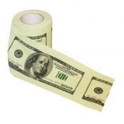 Thumbs Up! $100 Dollar Bill Toilet Paper