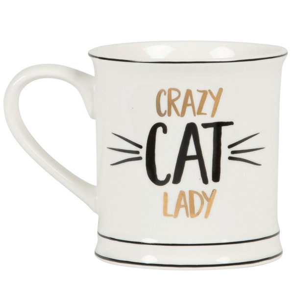 Sass & Belle Crazy Cat Lady Mug