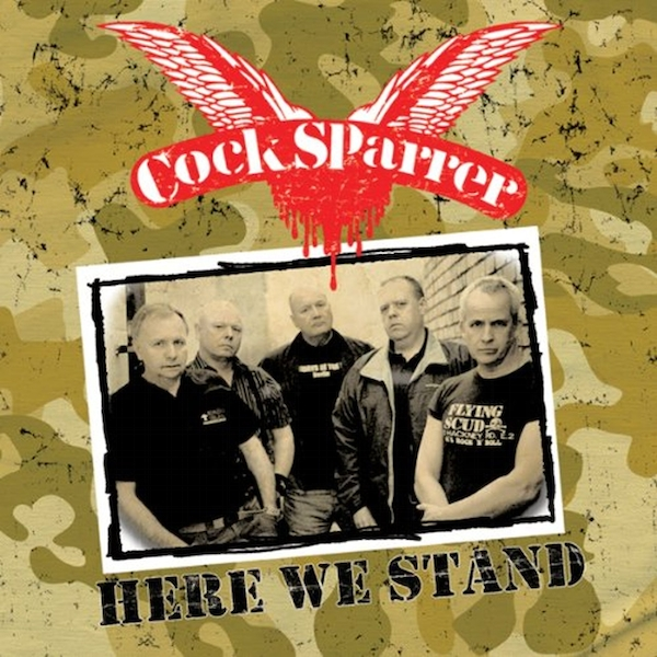 Cock Sparrer ‎– Here We Stand Cassette