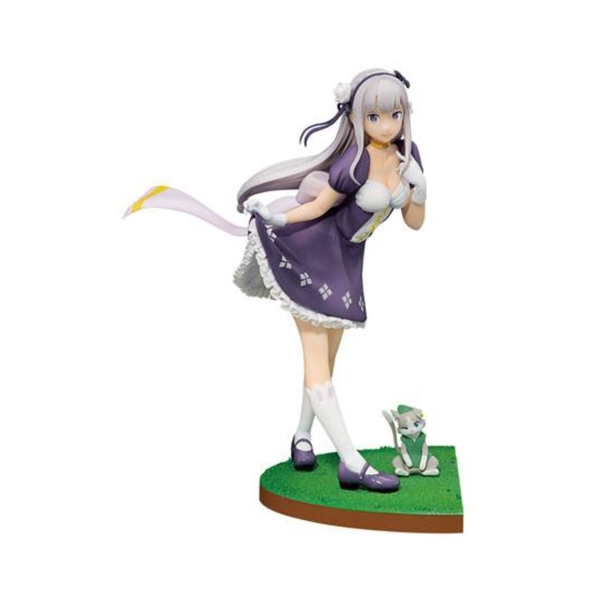 Emilia (Re:ZERO -Starting Life in Another World) Ichibansho PVC Statue