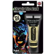 (5 Pack) PaintGlow Glow In The Dark Body Paint Blister Pack (Invisible) 10ml