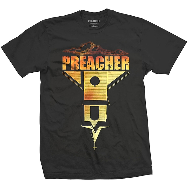 Preacher - Church Blend Unisex Small T-Shirt - Black