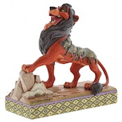 Preening Predator Scar (Lion King) Disney Traditions Figurine