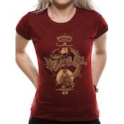 Harry Potter - Yule Ball Women's Small T-Shirt - Red
