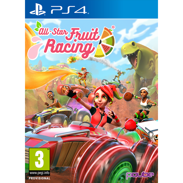 All-Star Fruit Racing PS4 Game - Image 1