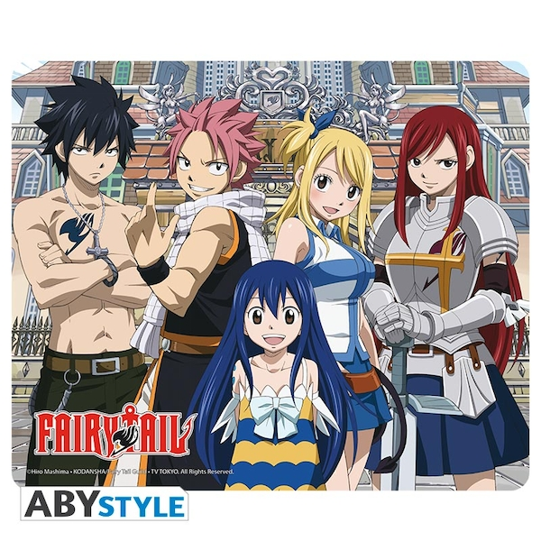 Fairy Tail - Group Mouse Mat