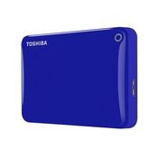 Toshiba 1TB Canvio Connect II USB 3.0 2.5inch Hard Drive Blue