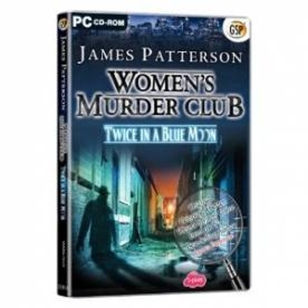 Ex-Display James Patterson Womens Murder Club Twice in a Blue Moon Game PC Used - Like New