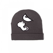 Nintendo Super Mario Bros. Bullet Bill Cuffed Beanie - Grey