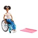 Barbie Fashionista Doll and Wheelchair - Brunette - Image 2