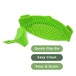 Silicone Clip on Pan Sieve & Strainer | FREE Clip On Pour Spout | M&W - Image 2