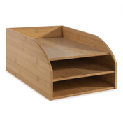Bamboo Letter Tray (3-Tier) | M&W