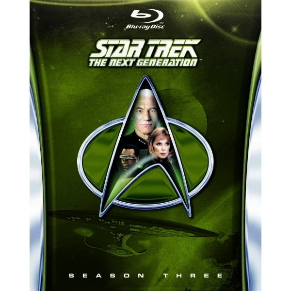 Star Trek The Next Generation Season 3 Blu-ray