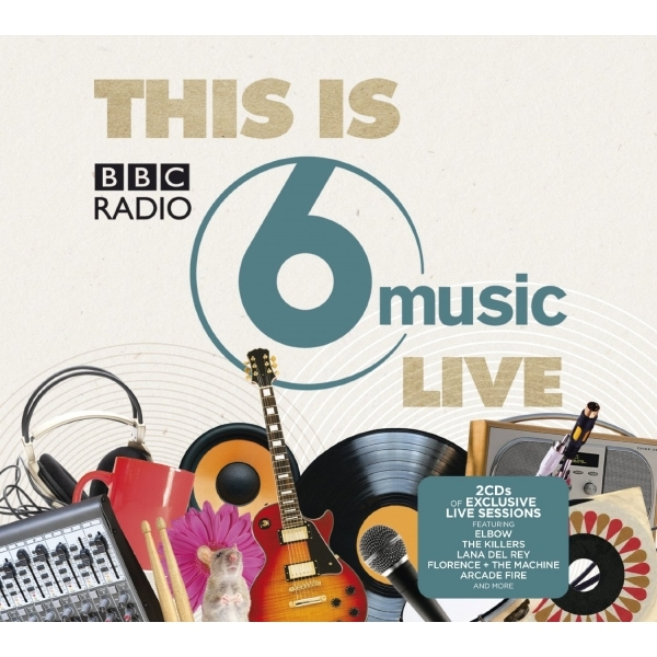 This Is BBC Radio 6 Music Live CD
