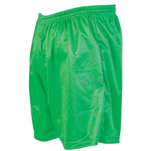 Precision Micro-stripe Football Shorts 42-44 inch Green