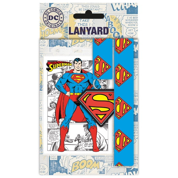 DC Comics Superman Lanyard
