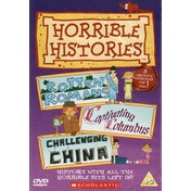 Horrible Histories: Rotten Romans   Captivating Columbus   Challenging China DVD