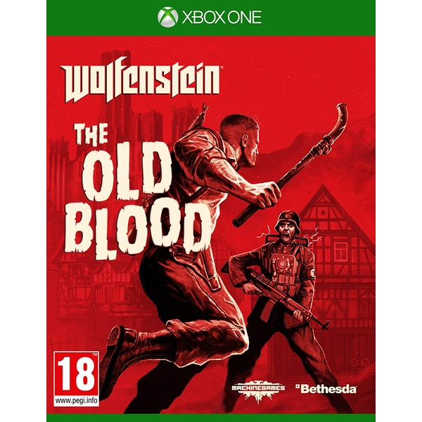 Wolfenstein The Old Blood Xbox One Game [Used] - Image 1