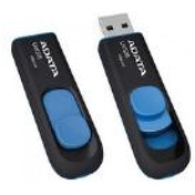 ADATA DashDrive UV128 64GB USB 3.0 Flash Drive Black/Blue