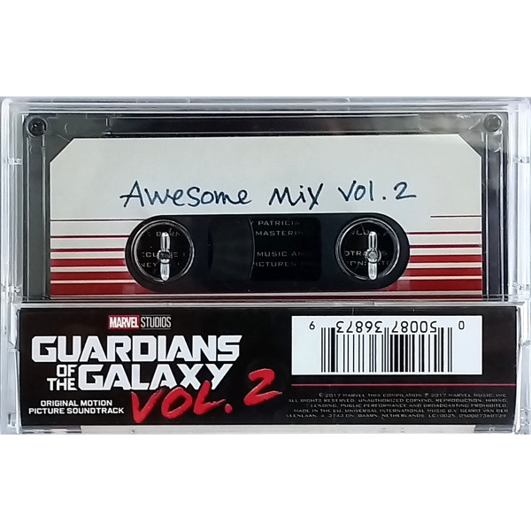 Guardians of the Galaxy Awesome Mix Vol 2 Cassette