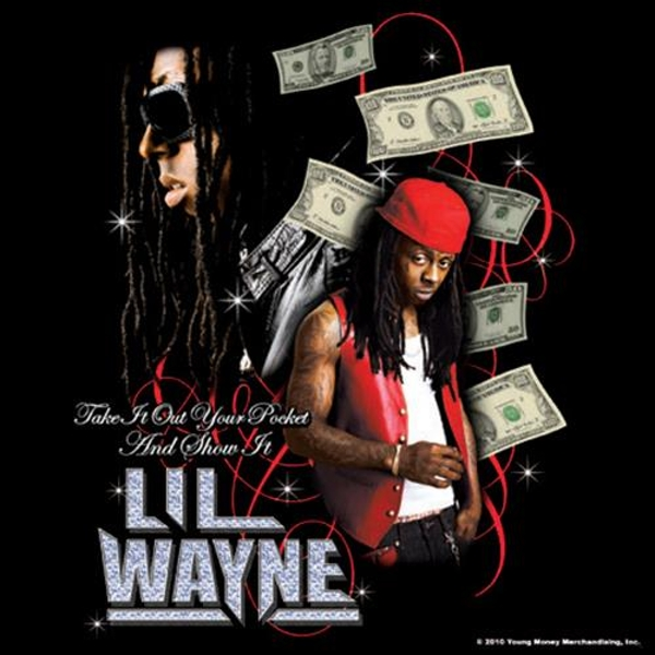 Lil Wayne - Take it Out your Pocket Single Cork Coaster