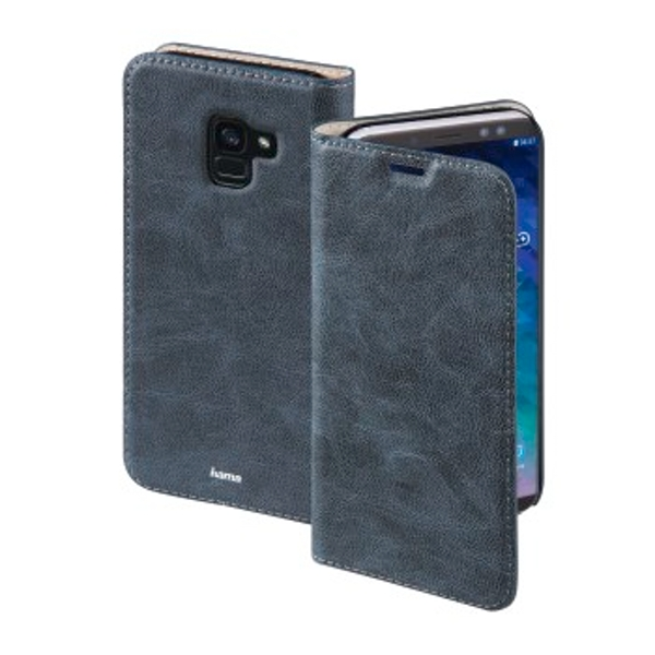 """Hama """"Guard Case"""" Booklet for Samsung Galaxy A6 (2018), blue"""