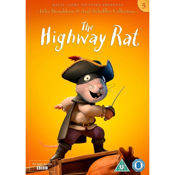 Julia Donaldson and Axel Scheffler Collection - The Highway Rat DVD