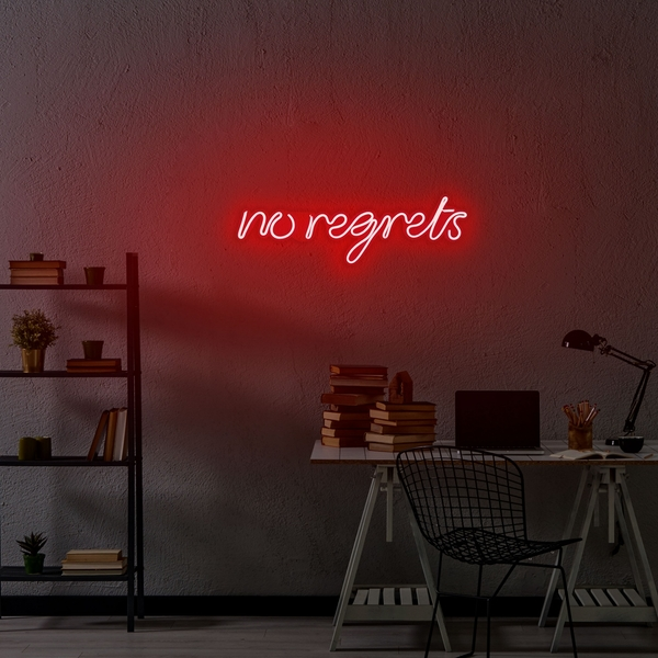 No Regrets - Red Red Wall Lamp