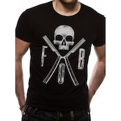 Fall Out Boy - Razors Unisex X-Large T-Shirt - Black